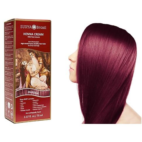 Surya Brasil Henna Cream - Marsala