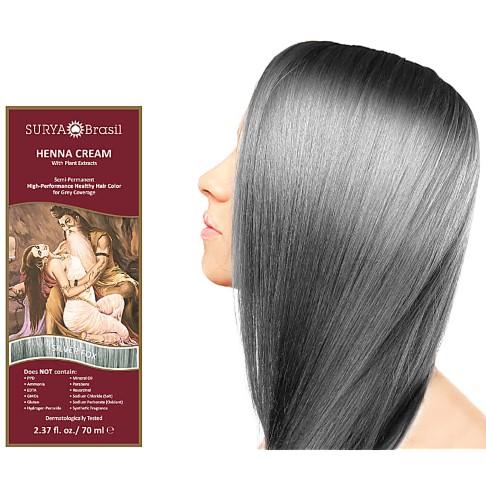 Surya Brasil Henna Cream - Silver Fox