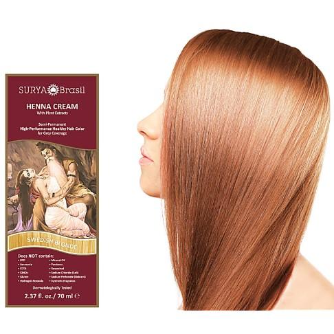 Surya Brasil Henna Cream - Swedish Blonde