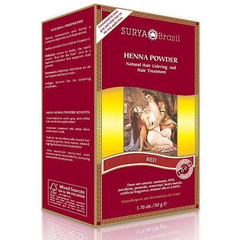 Surya Brasil Henna Powder Red