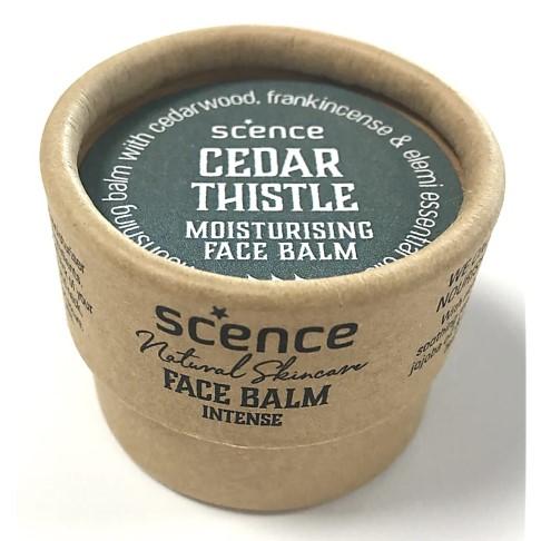 Scence Jojoba Moisturiser Face Balm - Cedar Thistle