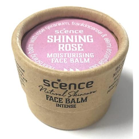 Scence Jojoba Moisturiser Face Balm - Shining Rose