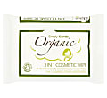 Simply Gentle Organic 3 in 1 cosmetic wipes