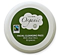 Simply Gentle Organic Facial Cleansing Pads with Aloe Vera