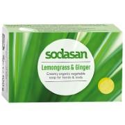 Sodasan Soap Bar - Lemongrass & Ginger 100g