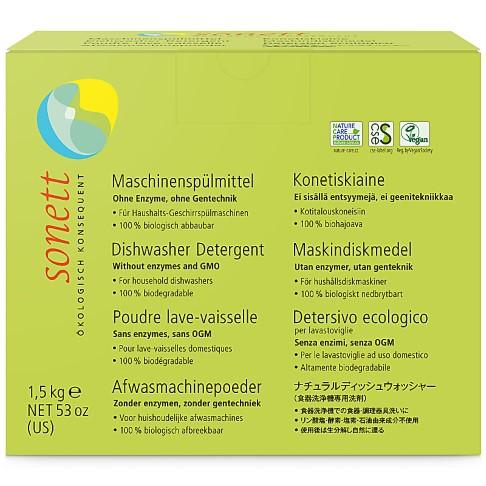 Sonett Dishwasher Powder - 1.5kg