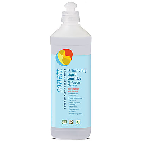 Sonett Sensitive Washing Up Liquid - 500ml