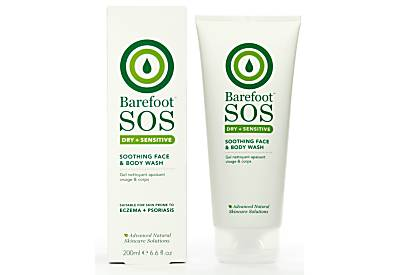 Barefoot SOS Dry + Sensitive Soothing Face & Body Wash