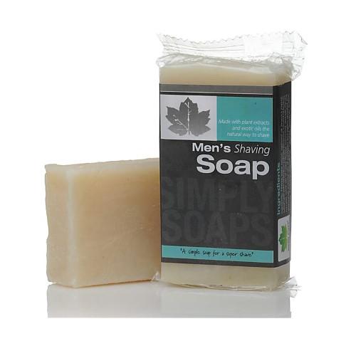 Simply Soaps Men's Shaving Soap Bar