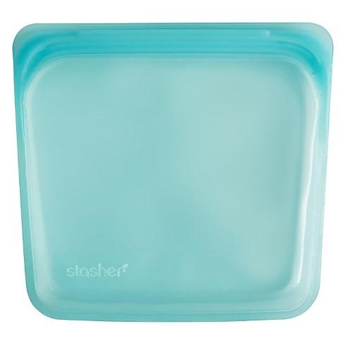 Stasher Bag Aqua 18 x 19 cm