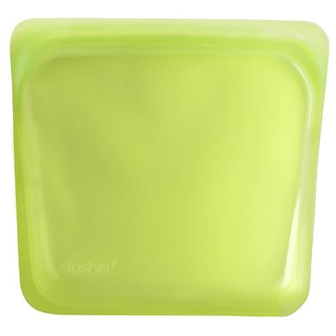 Stasher Bag Lime 18 x 19 cm