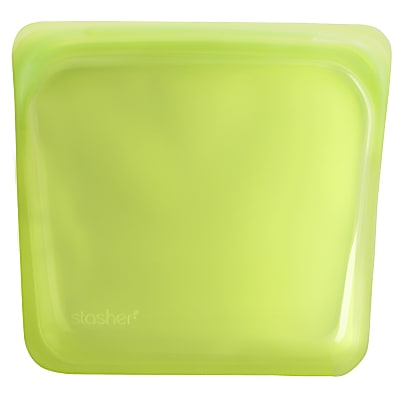 Stasher Bag Lime 18 x 19 cm