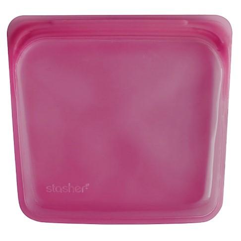 Stasher Bag Raspberry 18 x 19 cm
