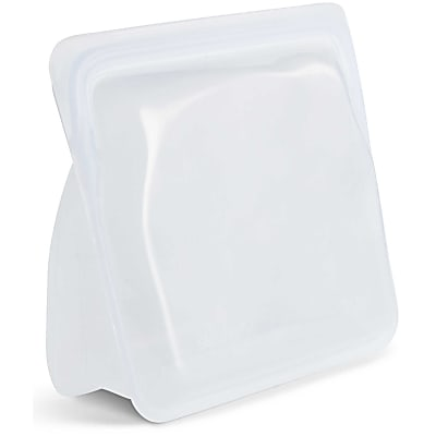 Stasher Reusable Stand Up Food Storage Bag Clear