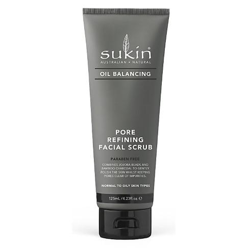 Sukin Oil Balancing + Charcoal Pore Refining Facial Scrub