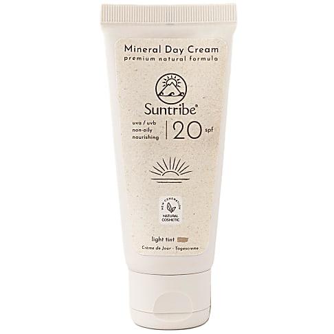 Suntribe Organic and Vegan Day Cream - SPF 20