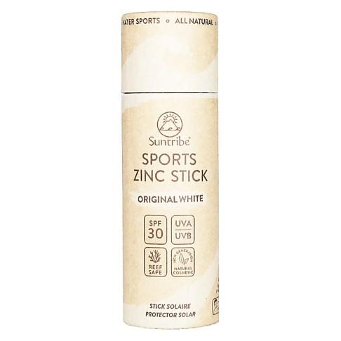 Suntribe All Natural Sport Zinc Stick SPF 30 - Original White