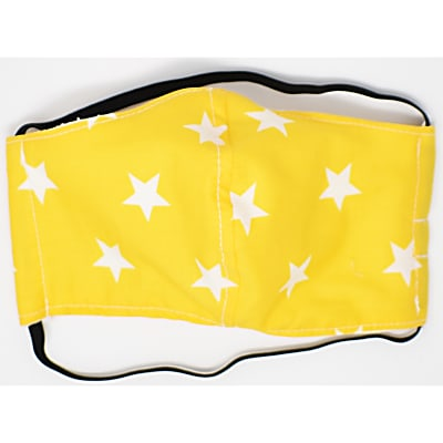 Tabitha Eve Reusable Child's Face Mask - Yellow Star