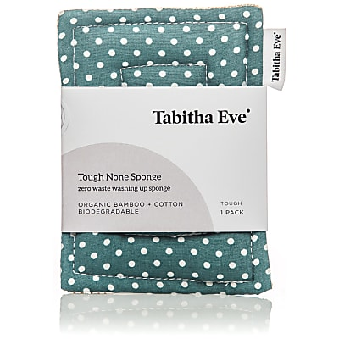 Tabitha Eve Tough None Sponge - Teal Dot