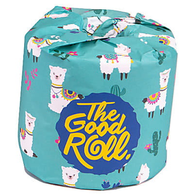 The Good Roll Plastic Free Toilet Paper, 1 Roll