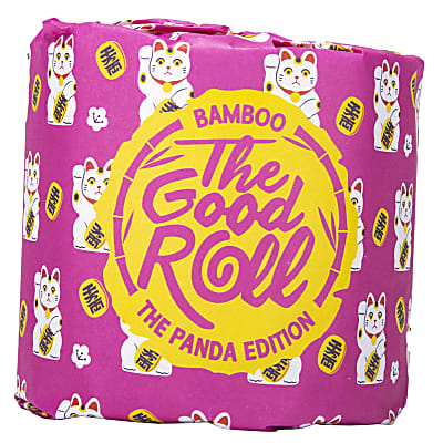 The Good Roll Naked Panda Edition: Bamboo Toilet Paper