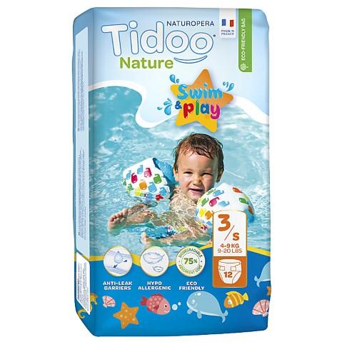 Tidoo Nature Swim & Play Nappies - Size 3 (4-9 kg)