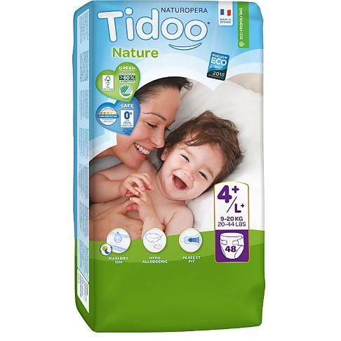Tidoo Nature Nappies - Maxi Plus Size 4+ (9-20kg)