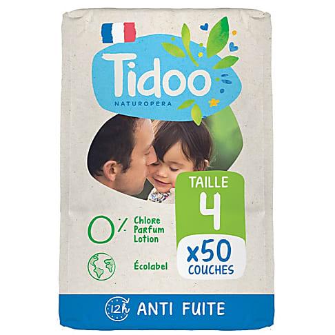 Tidoo Nature Nappies - Maxi Size 4 (7-18kg)