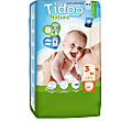 Tidoo Night and Day Nappies - Midi Size 3 (4-9kg)