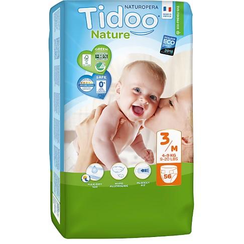 Tidoo Nature Nappies - Midi Size 3 (4-9kg)