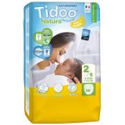 Tidoo Nature Nappies - Newborn 2 (3-6kg)