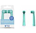 Tio 100% bio-based Oral-B Replacement Heads - Lagoon & Pebble