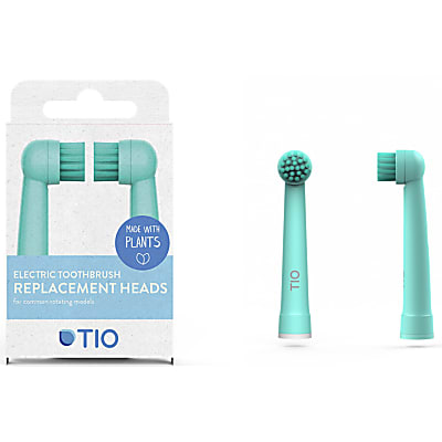 Tio 100% bio-based Oral-B Replacement Heads - Lagoon & Pebble