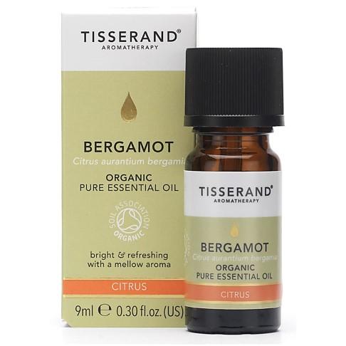 Tisserand Bergamot Organic Essential Oil 9ml