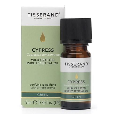 Tisserand Cypress Wildcrafted Essential Oil (9ml)
