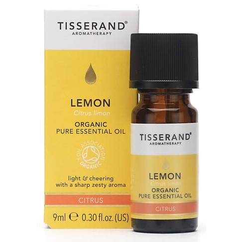 Tisserand Lemon Organic Essential Oil 9ml
