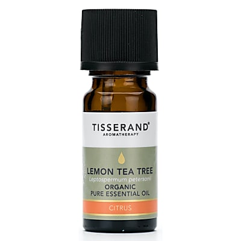 Tisserand Lemon Tea Tree Organic Essential Oil 9ml