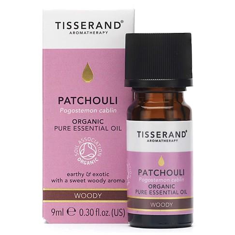 Tisserand Patchouli Organic Essential Oil 9ml