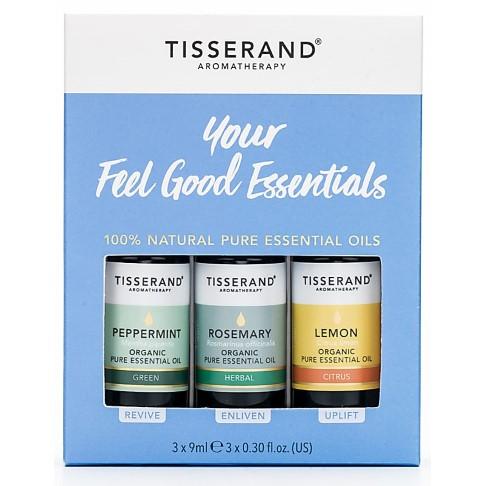 Tisserand Your Feel Good Essentials (Lemon, Rosemary, Peppermint)