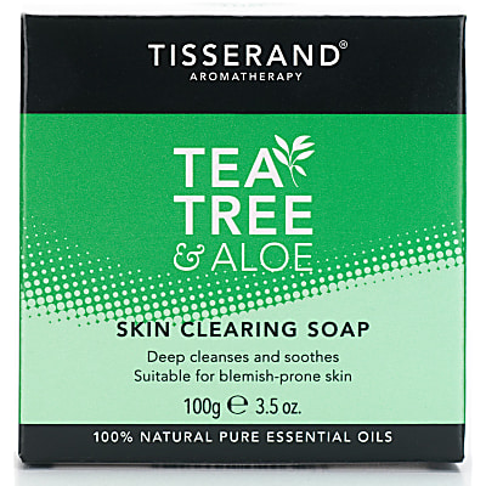 Tisserand Aromatherapy Tea Tree & Aloe Skin Clearing Soap