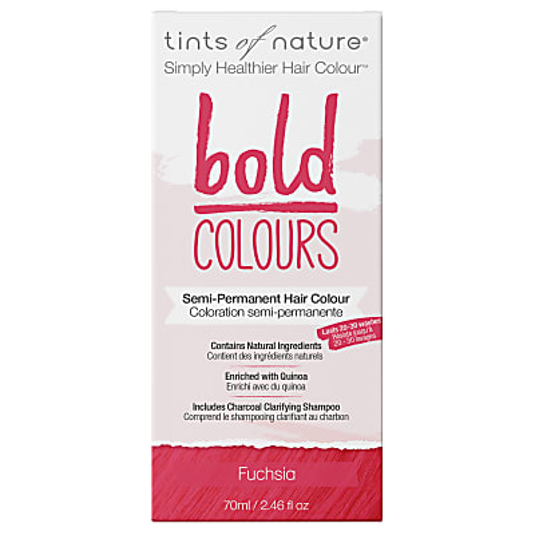 Tints of Nature, Bold Fuchsia Semi Permanent Hair Colour