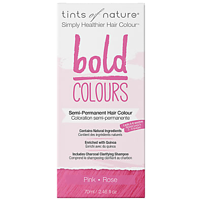 Tints of Nature, Bold Pink Semi Permanent Hair Colour