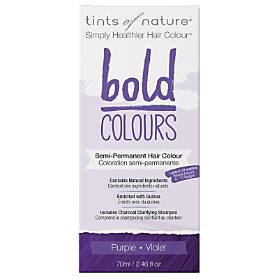 Tints of Nature, Bold Purple Semi Permanent Hair Colour
