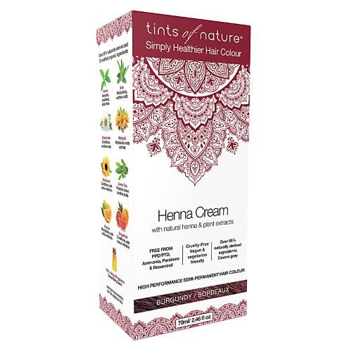 Tints of Nature Henna Cream - Burgundy