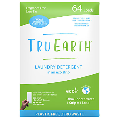 Tru Earth Laundry Eco-Strips Fragrance Free (64 washes)