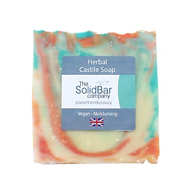The Solid Bar Company Herbal Castile Soap 95g