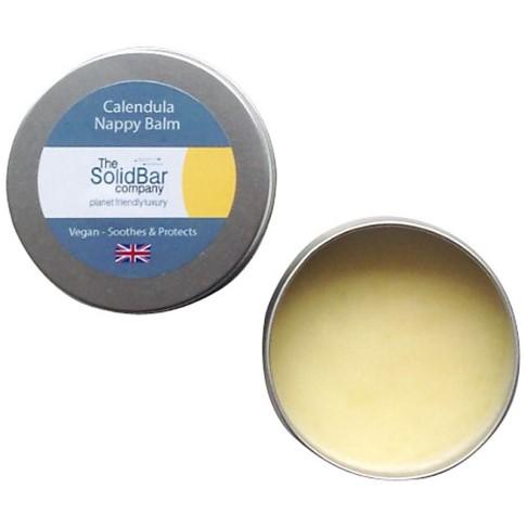 The Solid Bar Company Calendula Vegan Nappy Balm