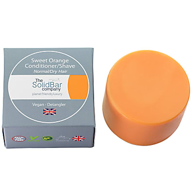 The Solid Bar Company Luxury Sweet Orange Conditioner - normal/dry - large