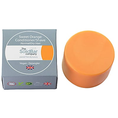 The Solid Bar Company Sweet Orange Vegan Conditioner - normal/dry - small 34g