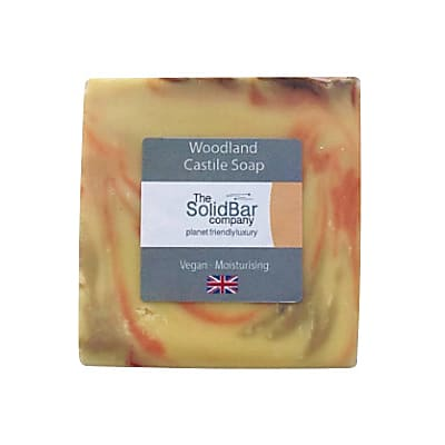 The Solid Bar Company Woodland Castile Soap 95g